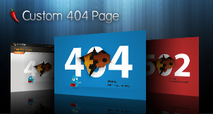 Custom Flash 404 page