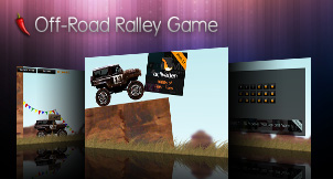 Flash Off-Road Ralley Game