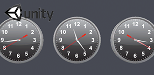 Analog Clock for Unity3d
