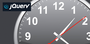 Customizable Analog Clock - jQuery