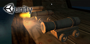 Unity 3d Pirate Cannon Prefab